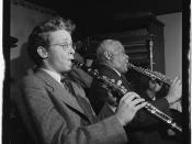 [Portrait of Bob Wilber and Sidney Bechet, Jimmy Ryan's (Club), New York, N.Y., ca. June 1947] (LOC)
