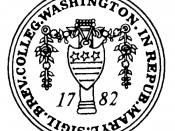 Seal Of Washington College