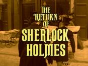 The Return of Sherlock Holmes (1986-88)