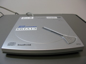 A DVD-ROM/CD-RW device made by Panasonic