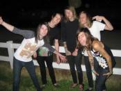English: Confide, the LA based hardcore band