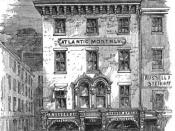 English: Publishing office of Atlantic Monthly, etc. Tremont St., Boston, 1873