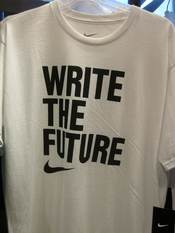 A Nike Write the Future soccer shirt for the 2010 FIFA World Cup.