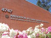 English: Front of *Clark Magnet High School in La Crescenta, the San Fernando Valley, Los Angeles.