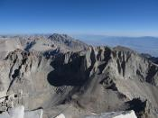 Mount Russell from Mount Whitney Summit, 14,505 Feet, California