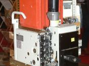 Nederlands: Old AEG Circuit breaker type ME 800 at Europort 2009