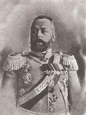 Alexandr Vasilievich Samsonov (Russian: Александр Васильевич Самсонов), Russian General (b.1859-d.1914)