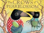 English: Cover of the Abrams' edition of Aldous Huxley's THE CROWS OF PEARBLOSSOM