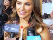 English: Natalie Portman at the Premiere of No Strings Attached.