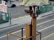 Air-raid siren in downtown Los Angeles SD-10