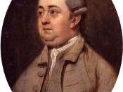 Edward Gibbon, by Henry Walton (died 1813). See source website for additional information.