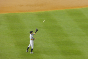English: Ichiro Suzuki playing the Yankees at Yankee Stadium.