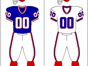 Buffalo Bills uniform: 1987-2001