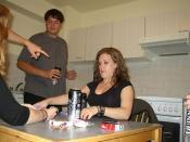 Stephanie Playing Poker