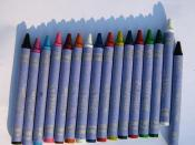 The sixteen Crayola