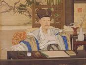 Qianlong in his studies