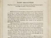 Amendment XVII in the National Archives