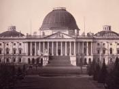 United States Capitol, Washington, D.C., east front elevation