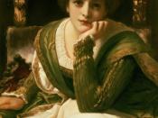 Desdemona by Frederic Leighton, ca. 1888