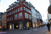 English: Gucci Shop on Strøget in Copenhagen, Denmark Suomi: Guccin liike Strøgetillä Kööpenhaminassa