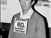 Roger Jones, Oxford Speedway team manager in 1970s