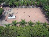 Plaza Bolivar Pereira Colombia