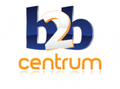 English: Logo B2B CENTRUM a.s. Česky: Logo B2B CENTRUM a.s.