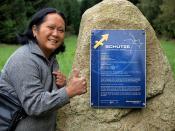 Sternzeichenpark Großschönau: Schütze - Sagittarius