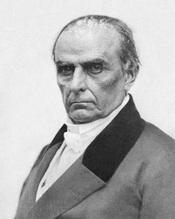 English: Daniel Webster