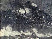 Part of the New York Herald front page about the Titanic disaster.