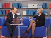 Marc Elsberg auf dem Blauen Sofa der LBM 2012
