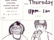 Rhino's Thursday Open Mic Music & Poetry