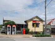 English: Post office at Lowood, Queensland