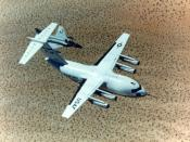 The McDonnell Douglas YC-15 design was used as the basis for the C-17.