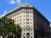 The Federal Home Loan Bank Board Building (also known as the Acacia Mutual Life Company Building) located at 320 1st Street, NW in the Judiciary Square neighborhood of The Classical Revival building was designed by in 1927, and is listed on the . Previous