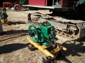 Antique Single cylinder engine