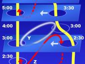 Time travel hypothesis ; using wormholes.