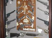 A typical cap gun display. http://www.nicholscapguns.com/guns.htm