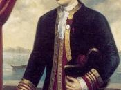 Capitán de Navío Juan Francisco de la Bodega y Quadra, circa 1785.