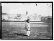 [Hick Cady, Boston AL, at Fenway Park, Boston (baseball)]  (LOC)