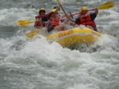 World famous whitewater rafting in the Valley.