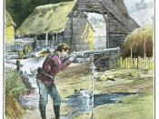 Jan Ridd learns to fire his father's gun – from an 1893 illustrated edition