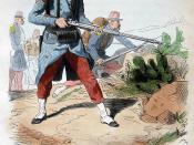 Deutsch: Uniform der Fremdenlegion (Légion Étrangère) 1852
