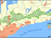 The Oak Ridges Moraine.