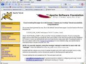 English: Apache Tomcat on Firefox.