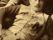 George S. Holden cropped from 1890 University of Michigan football team
