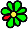 ICQ flower logo 2009