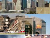English: Collection of photos related to the September 11 attacks, meant to be used as the infobox image for that article on Wikipedia.