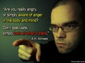 Be Aware of Your Anger
