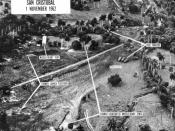 U.S. reconnaissance photograph of soviet missile sites on Cuba, taken from a Lockheed U-2 spy plane following the Cuban missile crisis.